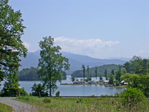 Beautiful Lake Chatuge Lots : Hiawassee : Towns County : Georgia