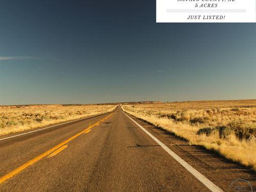 5 Acres In Navajo County, Arizona : Holbrook : Navajo County : Arizona