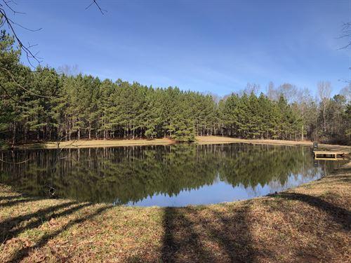 Mini Farm With Two Ponds : Fitzpatrick : Bullock County : Alabama