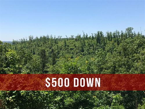 $500 Down on Rec Land in MO : Eminence : Shannon County : Missouri