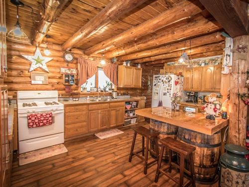 Private Country Home With 45 Acres : Gillett : Bradford County : Pennsylvania