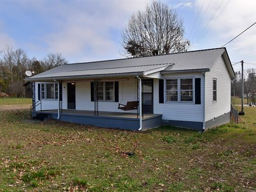 Home Near Tennessee River For Sale : Linden : Perry County : Tennessee