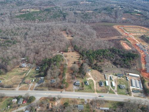 Highway 221 Development Opportunity : Woodruff : Spartanburg County : South Carolina