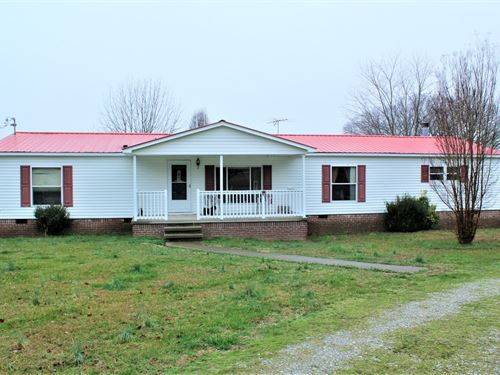 Mini Farm Pasture Home Tennessee : Nunnelly : Hickman County : Tennessee