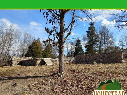 Beautiful Concrete Foundation : Mountain View : Howell County : Missouri