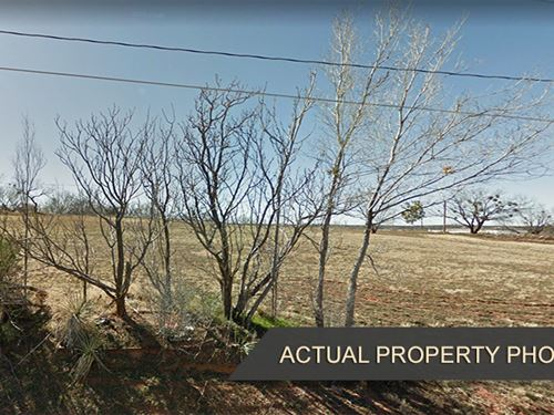 Cheap Property Near Fraley Park : Sweetwater : Nolan County : Texas