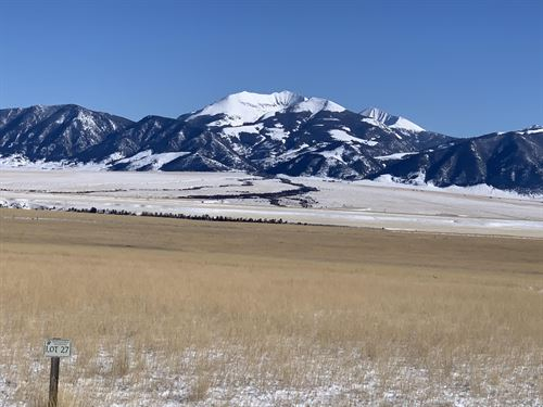 Lot 27 of Pronghorn Meadows : Ennis : Madison County : Montana