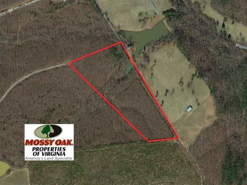 18 Acres of Recreational And Resid : Appomattox : Virginia