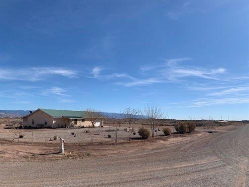 Three Bedroom Home 10 Acres : Tularosa : Otero County : New Mexico
