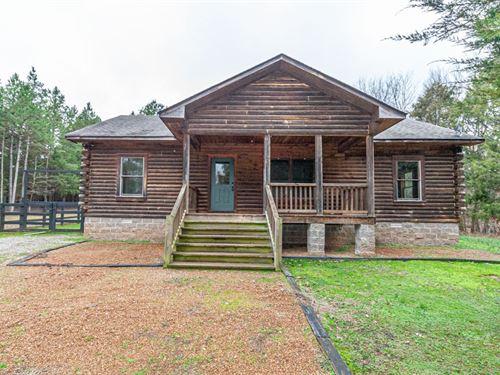 Log Home Gated Community Hardeman : Saulsbury : Hardeman County : Tennessee