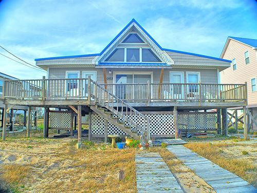 3Br Waterview Bungalow Surf City : Surf City : Pender County : North Carolina