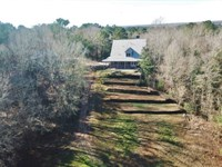 Large Acreage With Custom Home : Woodville : Wilkinson County : Mississippi