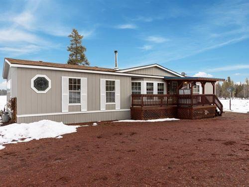 Wide Open Space, 3 Homes : Chiloquin : Klamath County : Oregon