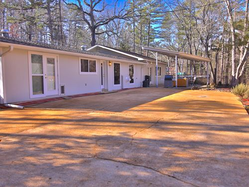 Home and Shop For Sale MO Ozarks : Eminence : Shannon County : Missouri