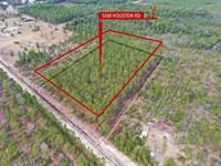 Rural Land, 5 Acres : Folkston : Charlton County : Georgia