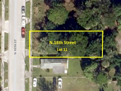Florida Lot in Sunny Ft , Pierce : Fort Pierce : Saint Lucie County : Florida