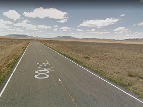 3 Lots, 5 Acre Each Great Potential : San Acacio : Costilla County : Colorado