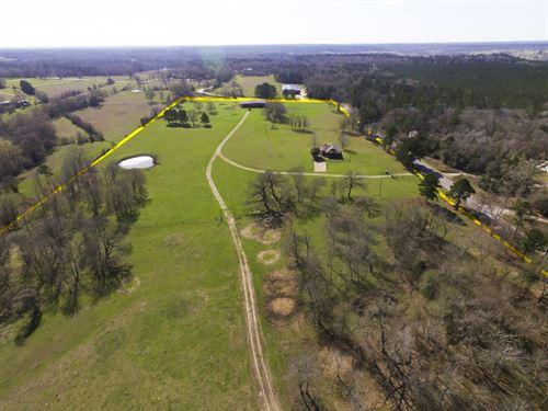163 Acres Rolling Hills Ranch : Huntsville : Walker County : Texas