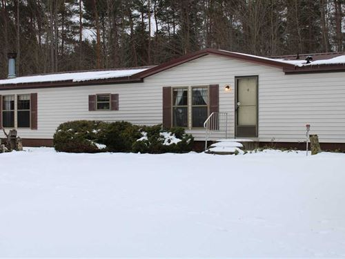 80 Acre Property With 1776 sq : Riverdale : Montcalm County : Michigan