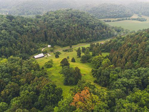 Riverfront Farm Land Country Home : Bristol : Washington County : Virginia