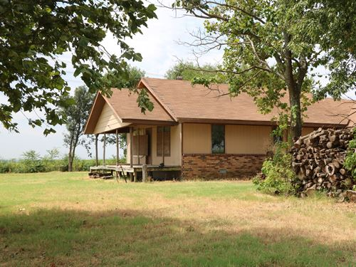 64 Acres Structure Fort Cobb Lake : Fort Cobb : Custer County : Oklahoma