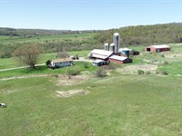 Certified Organic Farm With Home : Taylor : Cortland County : New York