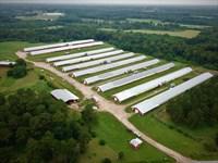 10 House Broiler Poultry Farm : McKenzie : Butler County : Alabama