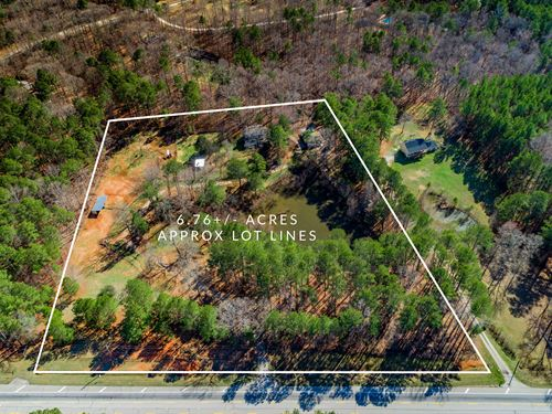 Recently Renovated on 6.76 Acres : Loganville : Newton County : Georgia