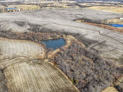 Fertile Kansas Farmland Suitable : Overland Park : Miami County : Kansas