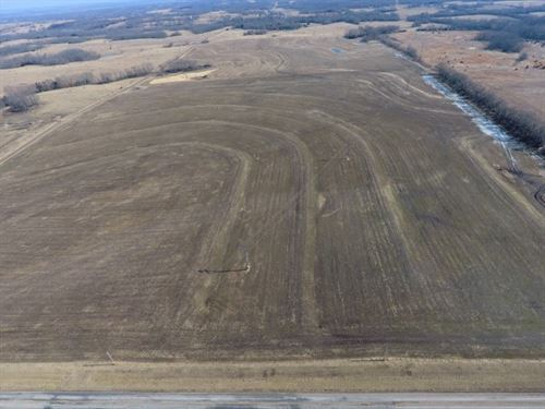 80 Acres Row Crop, Terraced, Tiled : Chillicothe : Livingston County : Missouri