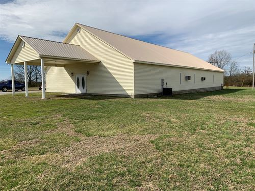 5,000 Sq, Ft, Building, 5 Acres : Leoma : Lawrence County : Tennessee
