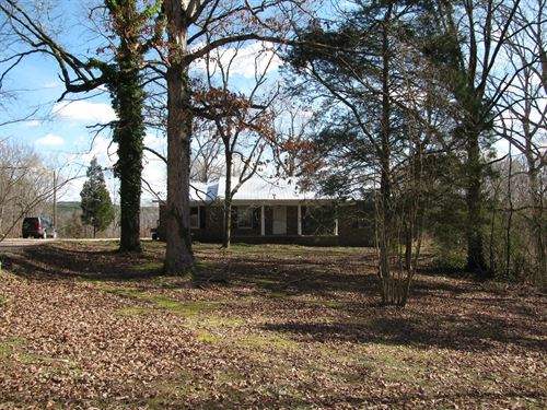 Brick Home Acreage Tennessee, Great : Savannah : Hardin County : Tennessee