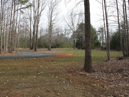 Wooded Lot Well & Septic Near Lake : Huddleston : Bedford County : Virginia