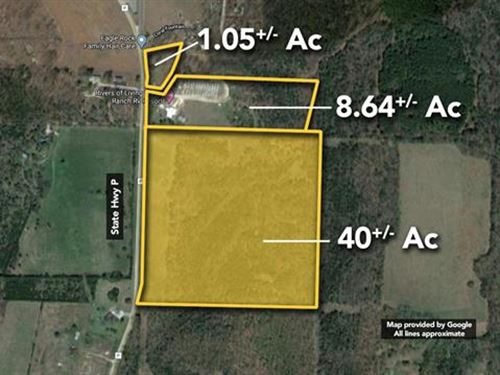 40+ / Acres of Vacant Agricultura : Eagle Rock : Barry County : Missouri