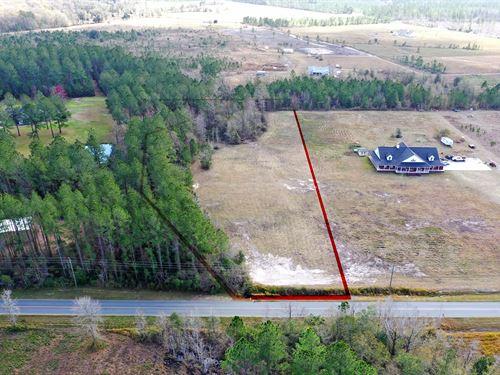2.28 Acres Vacant Land : Callahan : Nassau County : Florida