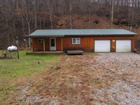 One Bedroom Country Home in WV : West Union : Doddridge County : West Virginia