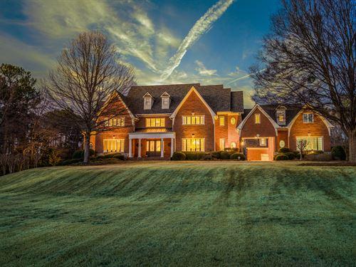 10 Acre Estate, Stunning Home : Bishop : Walton County : Georgia