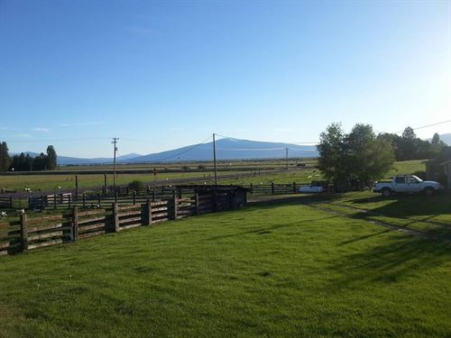 Historic Home on 37+ Acres : Chiloquin : Klamath County : Oregon
