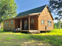 Finished Cabin on The River : Camden : Oneida County : New York