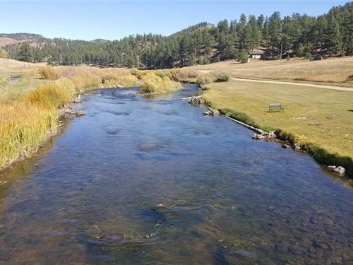 Private Colorado Fly Fishing Retre : Lake George : Park County : Colorado