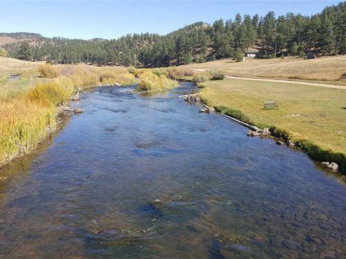 Private Colorado Fly Fishing Retre : Lake George : Park County : Colorado