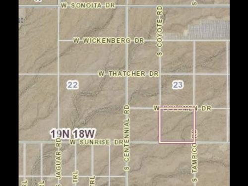 160 Acres, 4 40 Acre Tracts : Mohave : Arizona