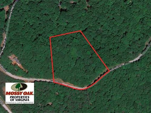 5 Acres of Residential Lake & Hunt : Pittsville : Bedford County : Virginia