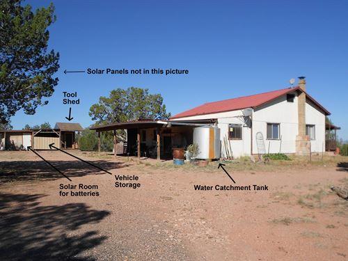 Mountain Home Fully Fenced Land Ash : Ash Fork : Yavapai County : Arizona