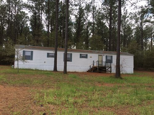 Mobile Home 8.9 Acres Hartford, AL : Hartford : Geneva County : Alabama