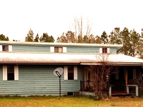 3.5 Acres With A Home In Walthall : Tylertown : Walthall County : Mississippi