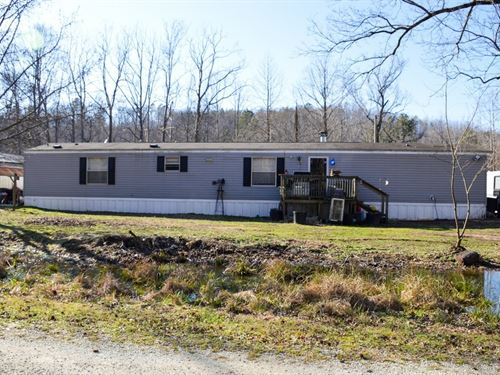 Manufactured Home Acreage : Hohenwald : Lewis County : Tennessee