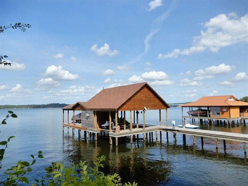 Waterfront Lot, Boathouse, Lake : Frankston : Henderson County : Texas