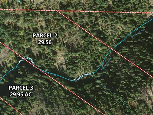 Undeveloped Recreational Property : Orofino : Clearwater County : Idaho