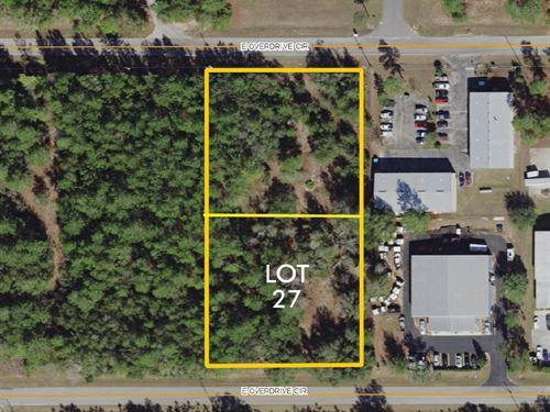 Citrus County Industrial Lot 27 : Hernando : Citrus County : Florida